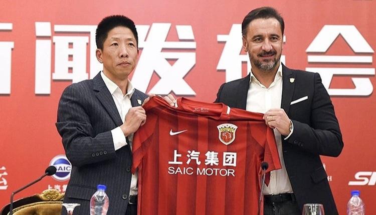 Vitor Pereira, Shanghai SIPG takımının başına geçti