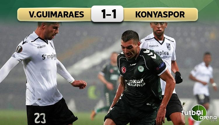 Vitoria Guimaraes 1-1 Konyaspor maçı özeti ve golleri (İZLE)