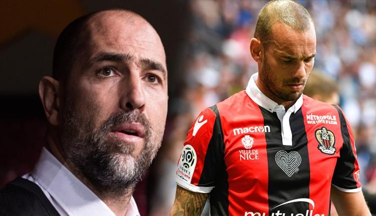 Wesley Sneijder, Galatasaray'a dönecek mi? Tudor kararını verdi