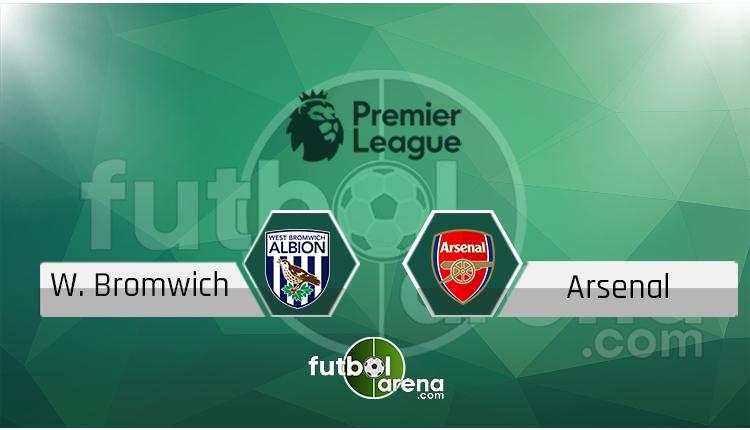 West Bromwich - Arsenal maçı saat kaçta, hangi kanalda? (İddaa Canlı Skor)