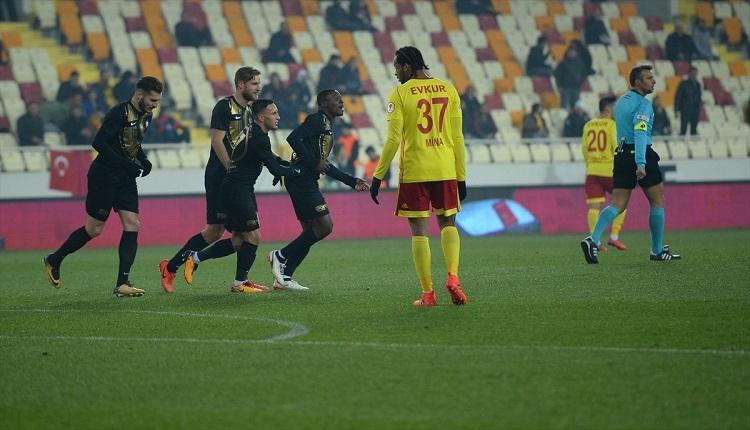 Yeni Malatyaspor 1-1 Osmanlıspor maç özeti ve golleri