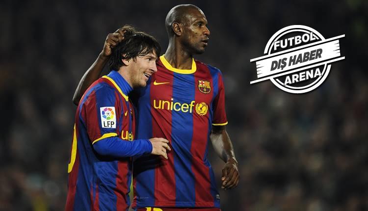 Abidal'dan Messi itirafı 'Beni bir ceset olarak...'