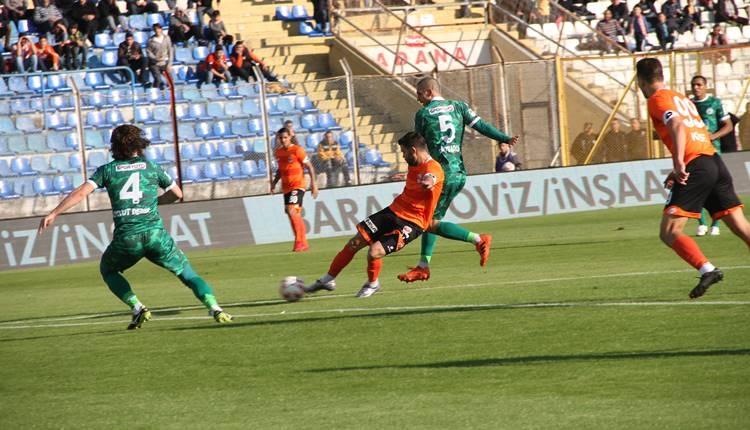 Adanaspor 1-1 Giresunspor maçı özeti ve golleri (İZLE)