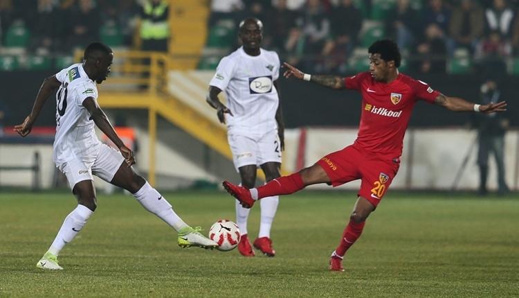 Akhisarspor 1-0 Kayserispor maç özeti ve golü (İZLE)