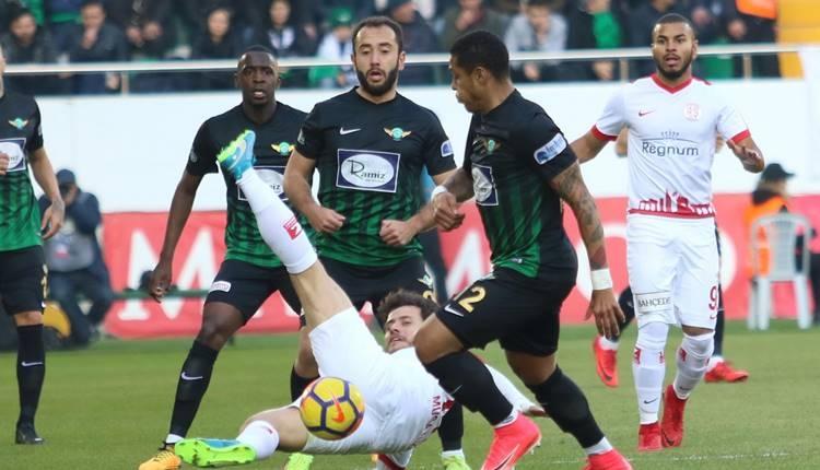 Akhisarspor 1-1 Antalyaspor maçı özeti ve golleri (İZLE)
