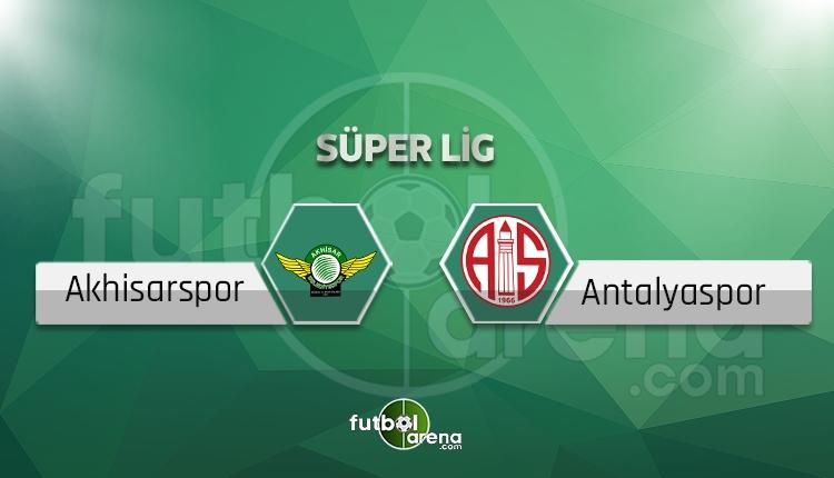 Akhisarspor - Antalyaspor maçı saat kaçta, hangi kanalda? (İddaa canlı skor)