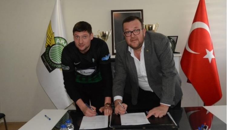 Akhisarspor, Yevhen Seleznyov'u transfer etti
