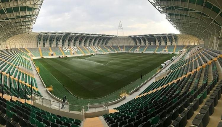 Akhisarspor'un yeni stadına büyük ilgi