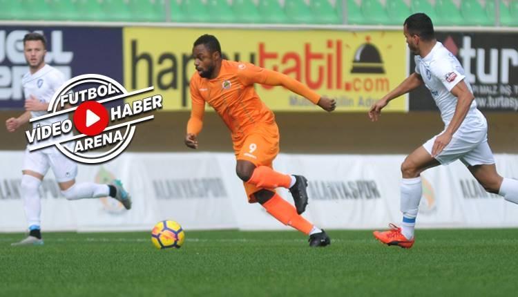 Alanyaspor 1-0 FC Kamza maçı özeti ve golü (İZLE)