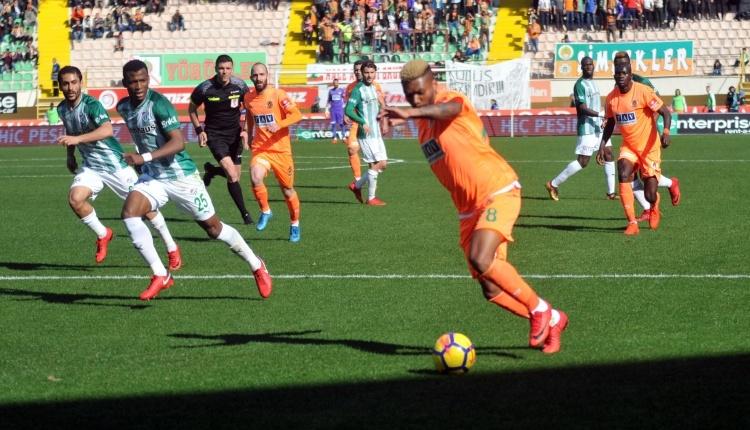 Alanyaspor 3 - 1 Bursaspor maç özeti ve golleri İZLE