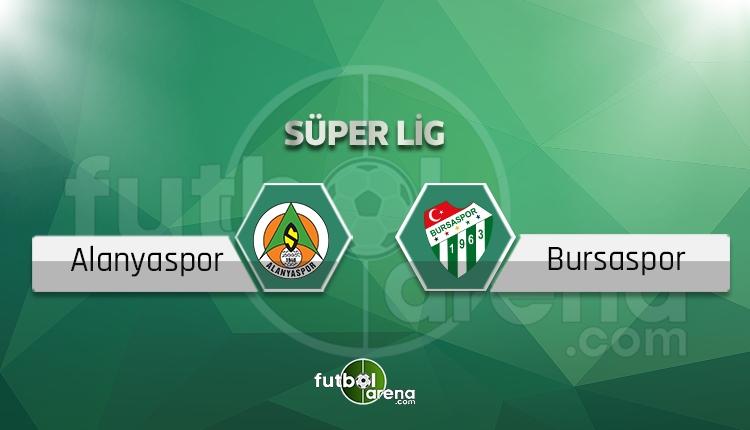 Alanyaspor - Bursaspor maçı saat kaçta, hangi kanalda? (İddaa canlı skor)