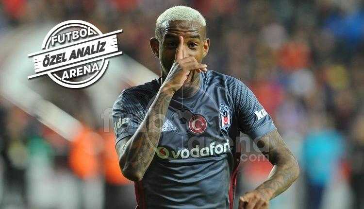 Anderson Talisca, Antalyaspor - Beşiktaş maçına damga vurdu