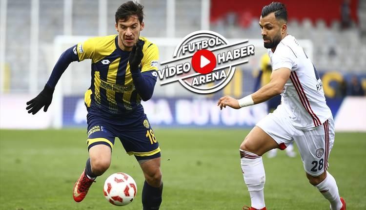 Ankaragücü 0-2 Altınordu maçı özeti ve golleri (İZLE)