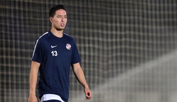 Antalyaspor'da Samir Nasri defteri kapandı
