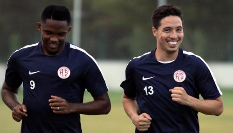 Antalyaspor'dan Eto'o ve Nasri kararı! ispanya'dan teklif