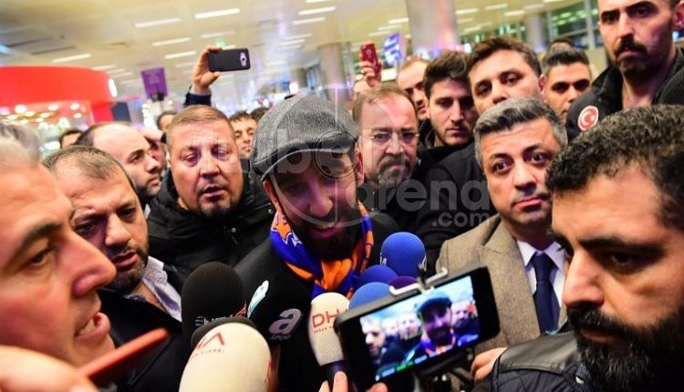 Arda Turan İstanbul'a geldi izdiham yaşandı! Şampiyonluk sözü