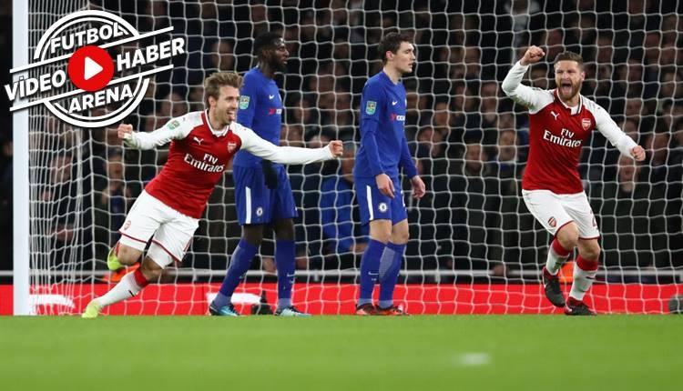 Arsenal 2-1 Chelsea maçı özeti ve golleri (İZLE)