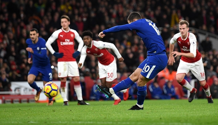 Arsenal 2-2 Chelsea maç özeti ve golleri