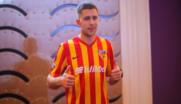 Artem Kravets resmen Kayserispor'da