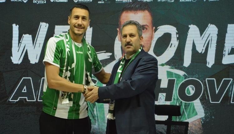 Atiker Konyaspor, Adis Jahovic ile gece yarısı imzaladı