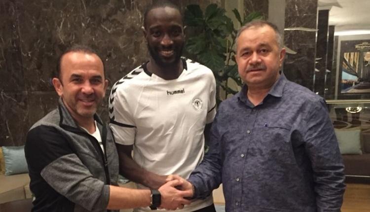 Atiker Konyaspor, Mustapha Yatabare ile sözleşme imzaladı.