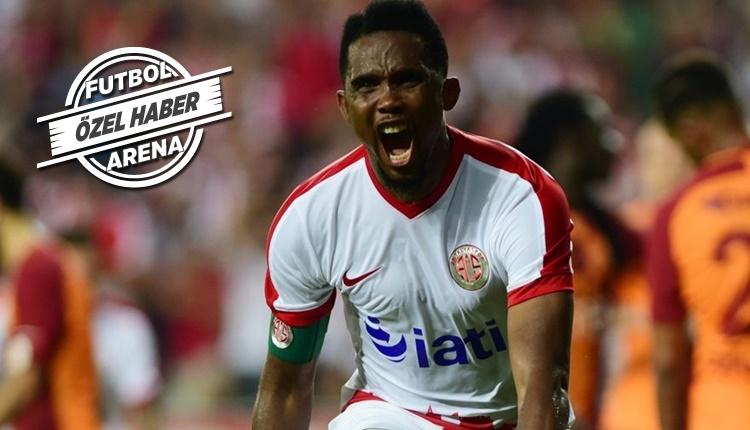 Atiker Konyaspor, Samuel Eto'o'yu transfer ediyor!