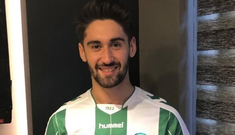 Atiker Konyaspor'da Orkan Çınar'dan ilk şutta gol