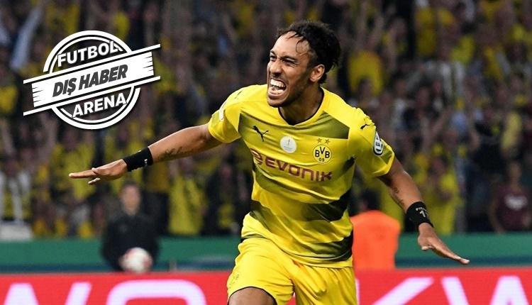 Borussia Dortmund, Aubameyang'ı Arsenal'e sattı