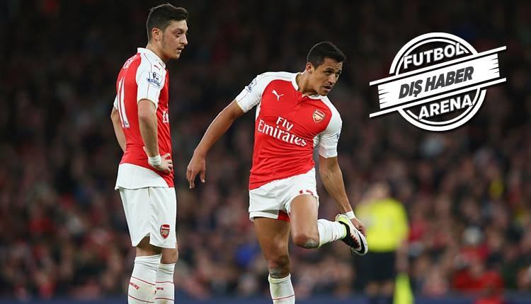 Avrupa'da taşlar yerinden oynayacak! Mesut Özil, Aubameyang, Alexis Sanchez