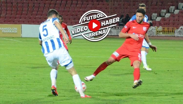 Balıkesirspor 2-0 Erzurumspor maçı özeti ve golleri (İZLE)