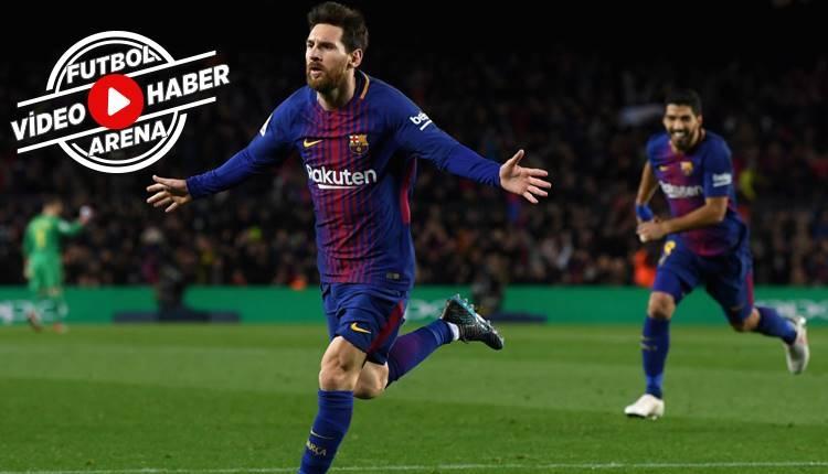 Barcelona 2-1 Alaves maçı özeti ve golleri (İZLE)