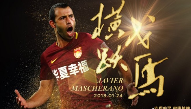 Barcelona'da Javier Mascherano, Habei China Fortune'a transfer oldu