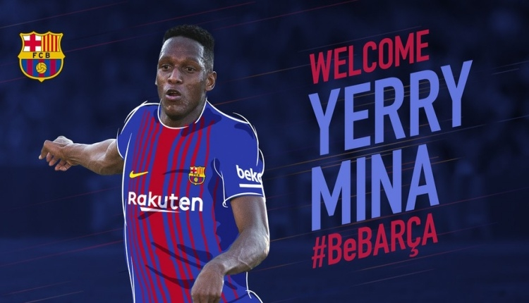 Barcelona'dan savunmaya Yerry Mina transferi