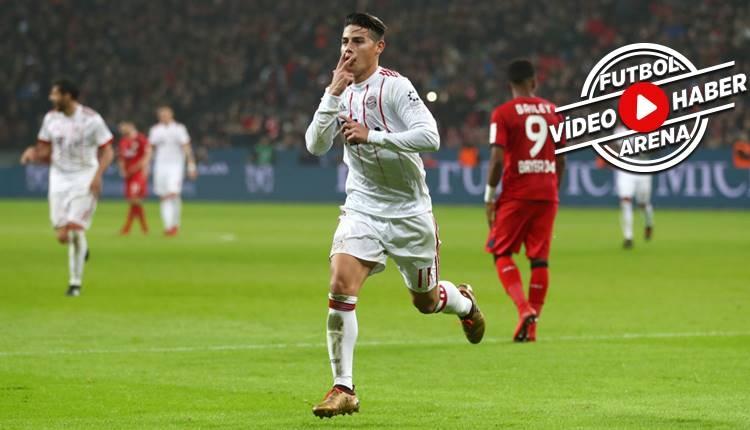 Bayer Leverkusen 1-3 Bayern Münih maçı özeti ve golleri (İZLE)
