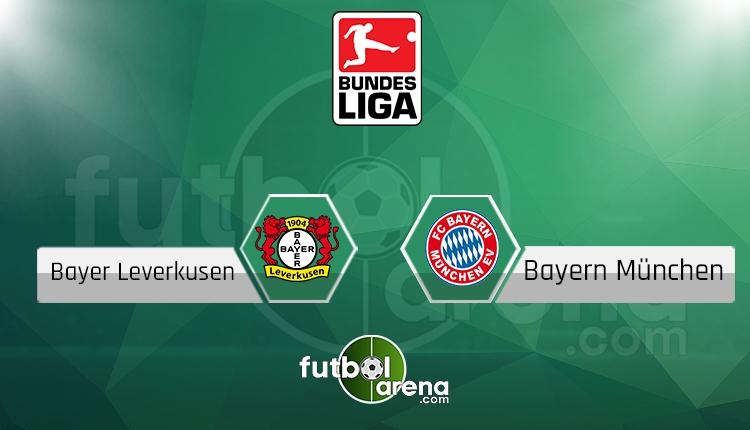 Bayer Leverkusen - Bayern Münih maçı saat kaçta, hangi kanalda? (İddaa Canlı Skor)