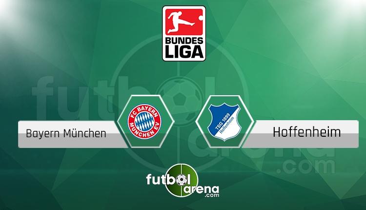 Bayern Münih - Hoffenheim maçı saat kaçta, hangi kanalda? (İddaa canlı skor)