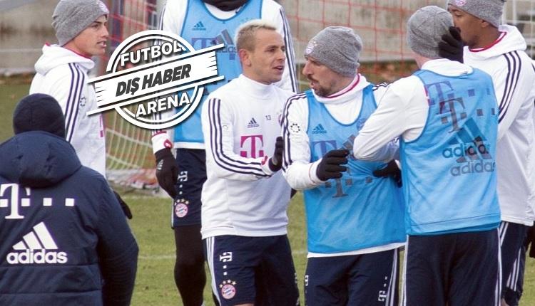 Bayern Münih idmanında kavga! Beşiktaş'ın rakibi karıştı