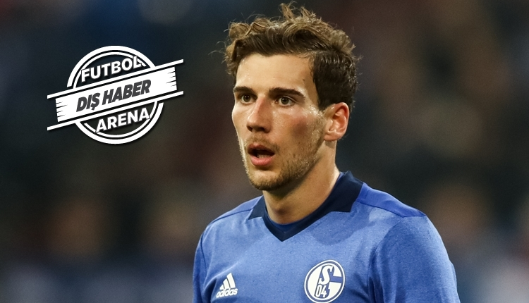 Bayern Münih ile anlaşan Leon Goretzka için küfürlü pankart