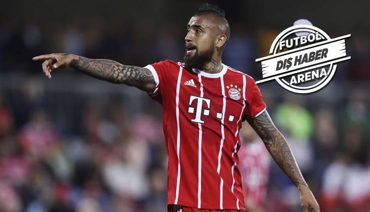 Bayern Münih'in yıldızı Vidal, Manchester United'a mı gidiyor?