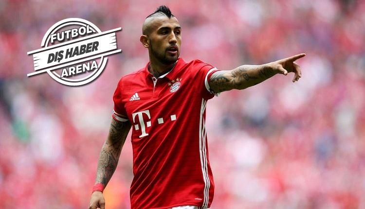 Bayern Münih'in yıldızı Vidal'den Beşiktaş açıklaması