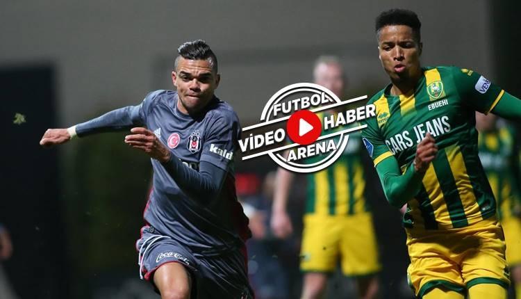 Beşiktaş 2-2 ADO Den Haag maçı özeti ve golleri (İZLE)