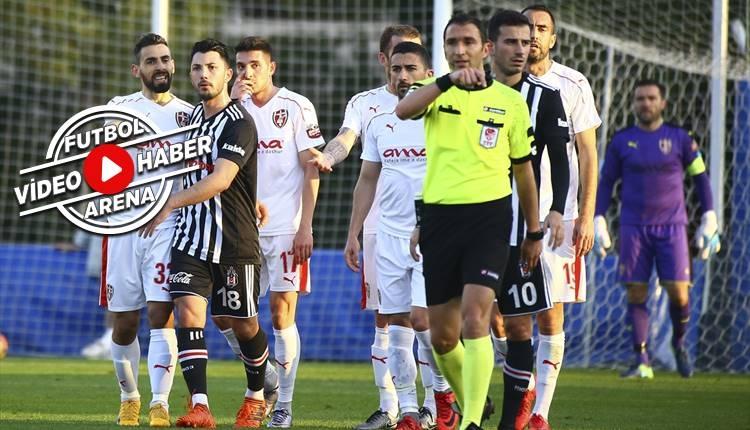 Beşiktaş 3-2 Skenderbeu maçı özeti ve golleri (İZLE)