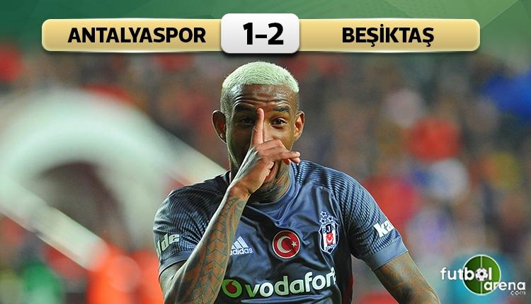 Antalyaspor 1-2 Beşiktaş maç özeti ve golleri (İZLE)