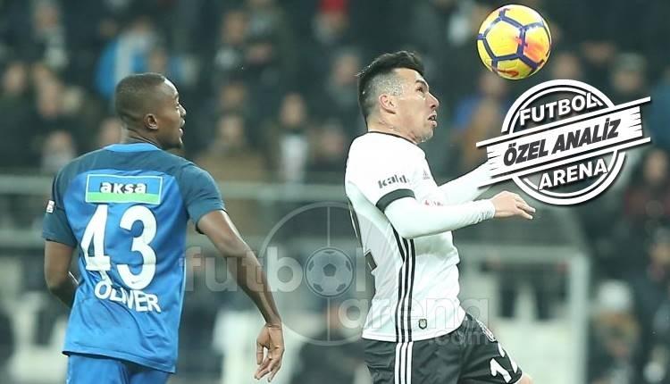 Beşiktaş, ikinci yarıda istatistiklerde lider oldu
