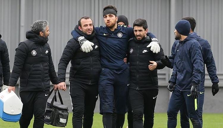 Beşiktaş öncesi Osmanlıspor kalecisi hastanelik oldu