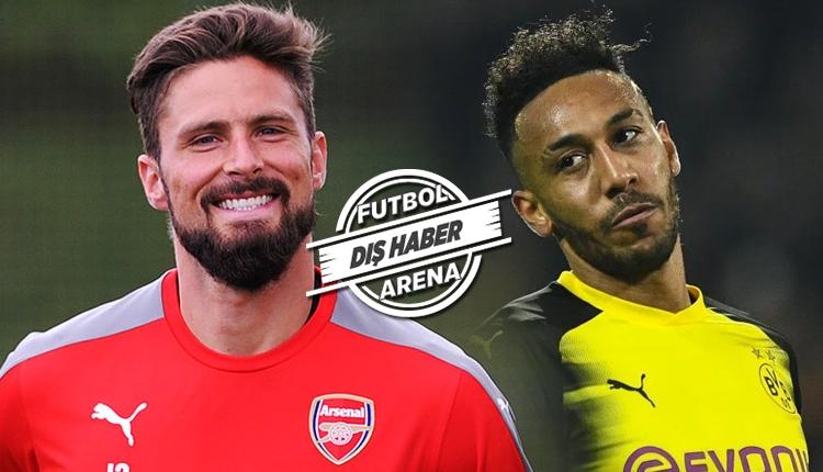 Beşiktaş'ın transfer gözdesi Giroud için Dortmund'un planı