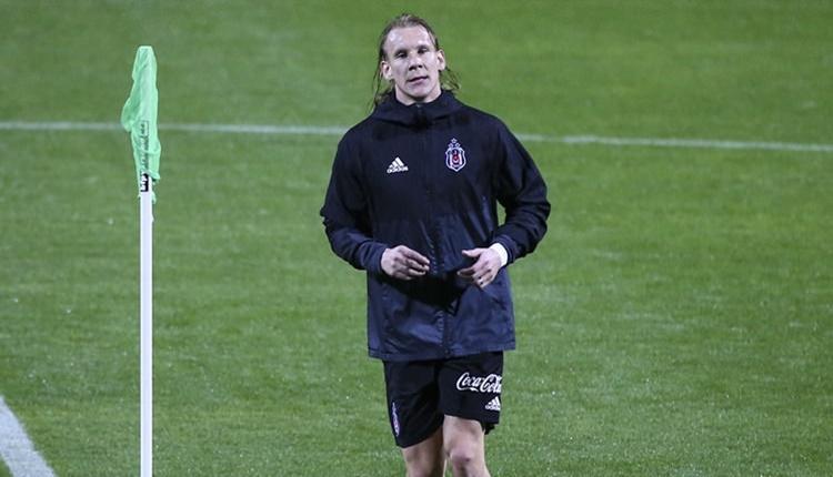 Beşiktaş'ın yeni transferi Domagoj Vida takıma ısınıyor
