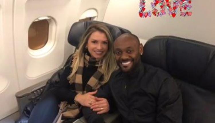 Beşiktaş'ın yeni transferi Vagner Love, İstanbul'a geldi