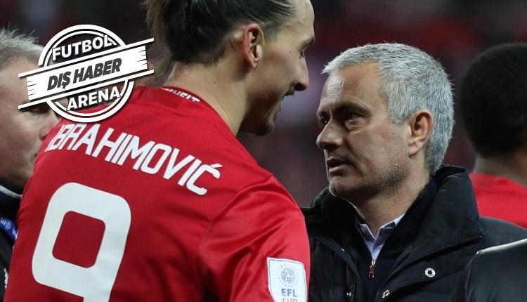 Beşiktaş'la ismi anılan Ibrahimovic için Mourinho'dan açıklama