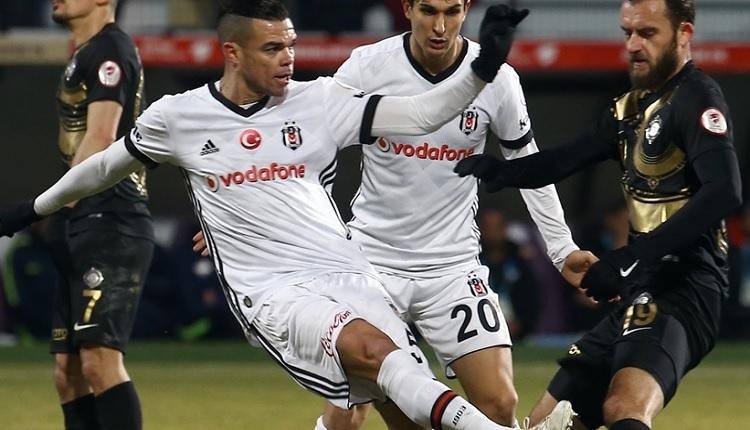Beşiktaşlı Pepe Osmanlıspor maçında sakatlandı! Son durumu